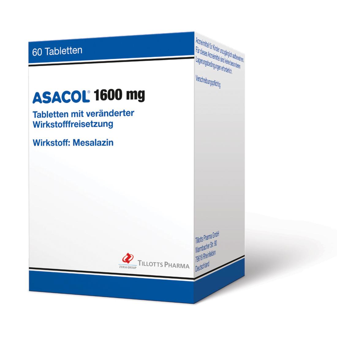 Smart Simplicity mit Asacol® 1600 mg bei Colitis ulcerosa: Neue Tabletten-Formulierung mit bislang höchster Mesalazin-Einzeldosis