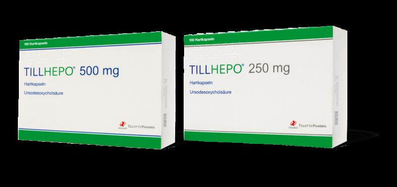 Tillhepo 500 mg und 250 mg