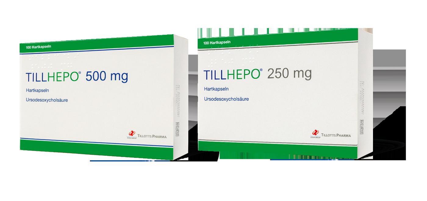 Tillotts launcht Tillhepo® Hartkapseln mit Ursodesoxycholsäure (UDCA)