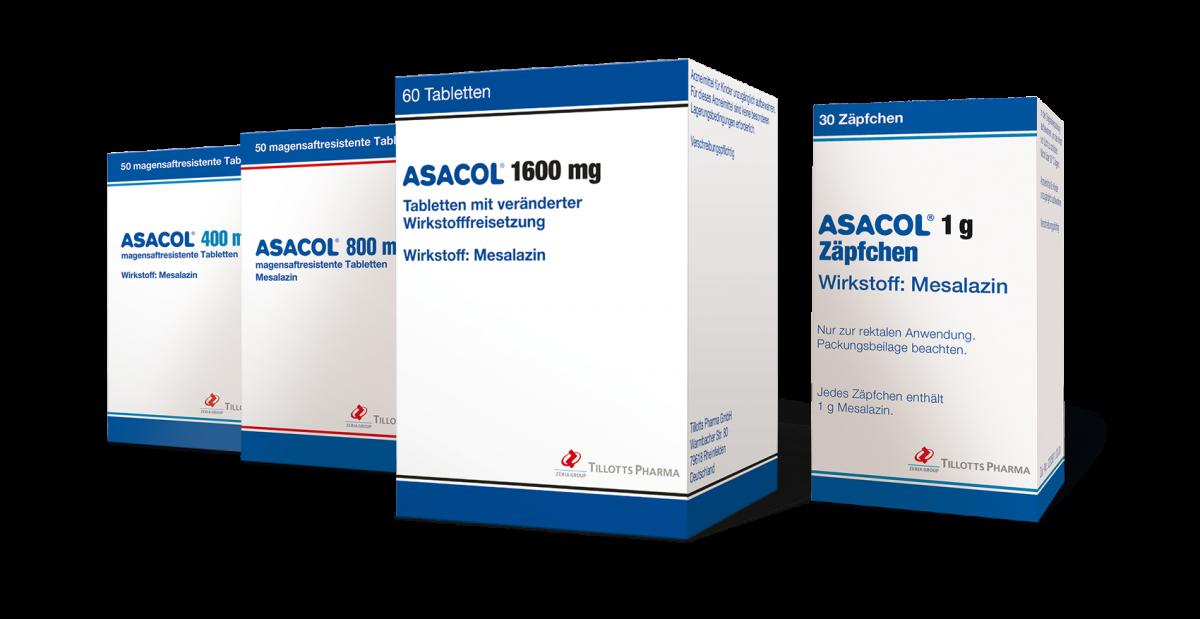 Tillotts Pharma Asacol Packs